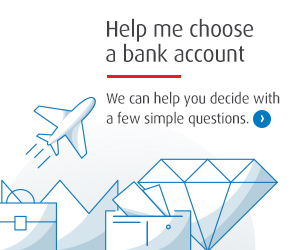Help me choose a bank account. We can help you decide with a few simple questions.